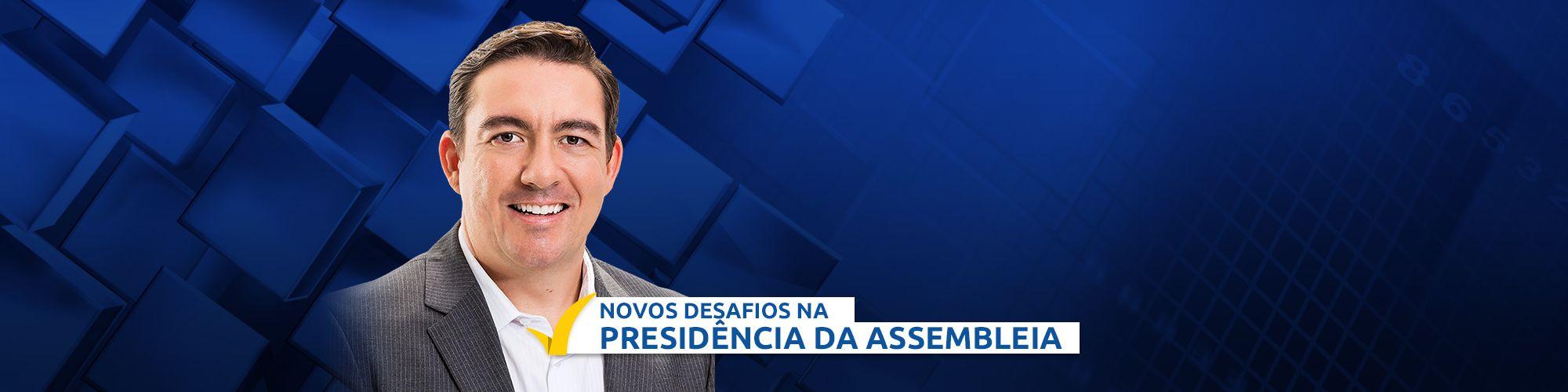 Banner de Presidência da Assembleia